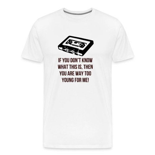 Retro Cassette - Men's Premium T-Shirt