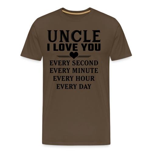 I Love You Uncle - Men's Premium T-Shirt