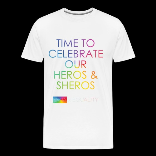 SXNA x EQUALITY: Heros & Sheros - Männer Premium T-Shirt