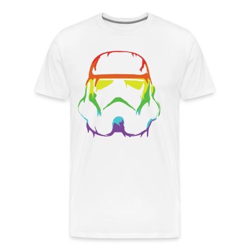 Pride Trooper - simple - Miesten premium t-paita