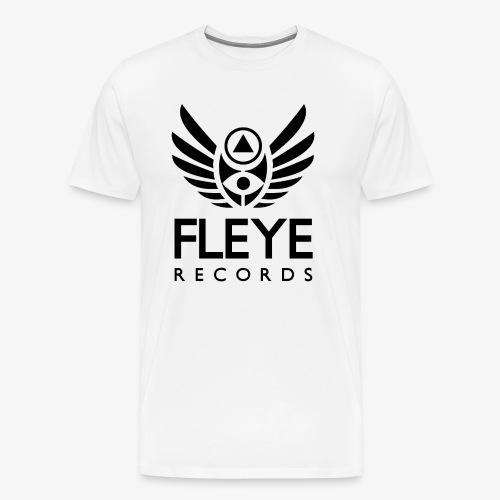 Fleye Records (Black Logo Design) Tøj m.m. - Herre premium T-shirt