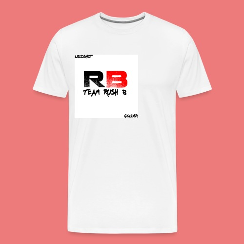 trb logo wildshot - Men's Premium T-Shirt