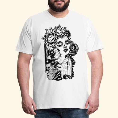 Catrina - Camiseta premium hombre