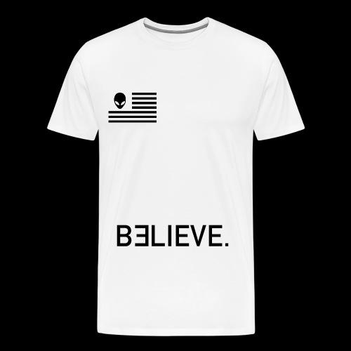 AlienFlagBlack - Men's Premium T-Shirt