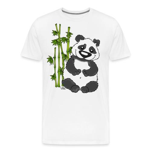 Panda Pao Pao - Männer Premium T-Shirt