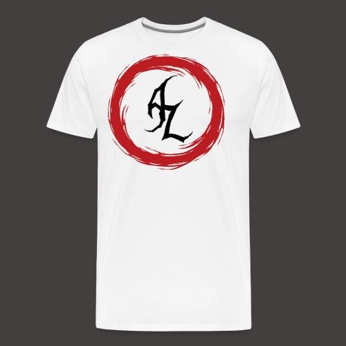 Logo Officiel Azaros Noir - T-shirt Premium Homme