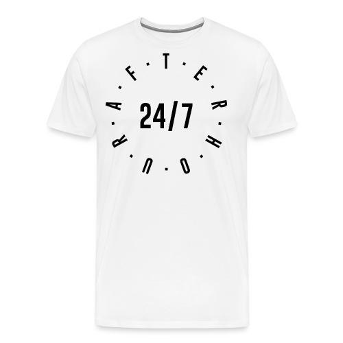 Afterhour 24/7 black - Männer Premium T-Shirt