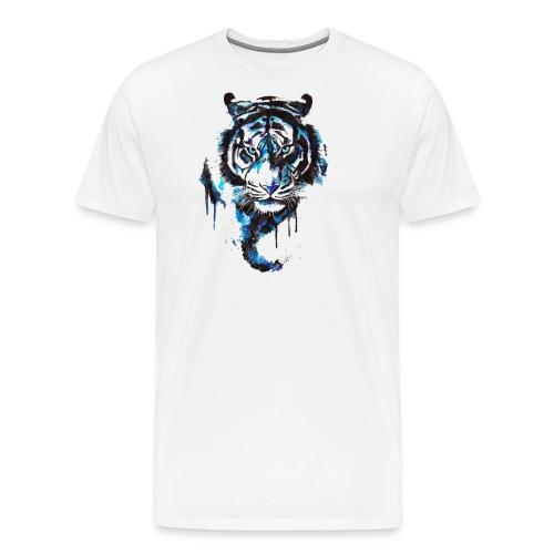 Blue Tiger - Premium Shirt - Männer Premium T-Shirt