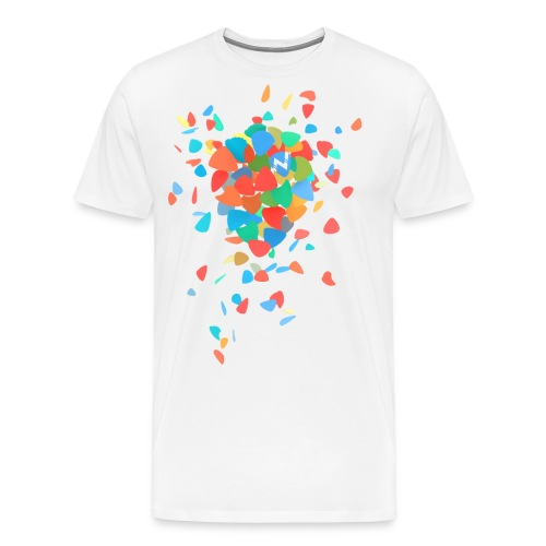 Guitar Pick Explosion - Men's Premium T-Shirt