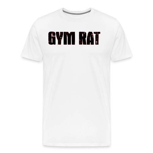 Gymrat - Premium-T-shirt herr
