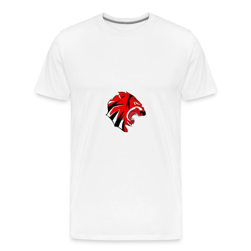 Tigers Logo - Men's Premium T-Shirt