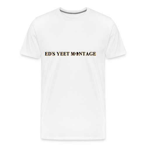 eds yeet montage official logo - Men's Premium T-Shirt