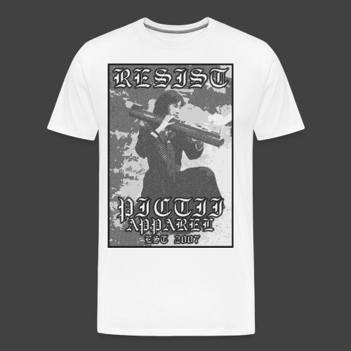 PICTRESIST6 - BW - Men's Premium T-Shirt