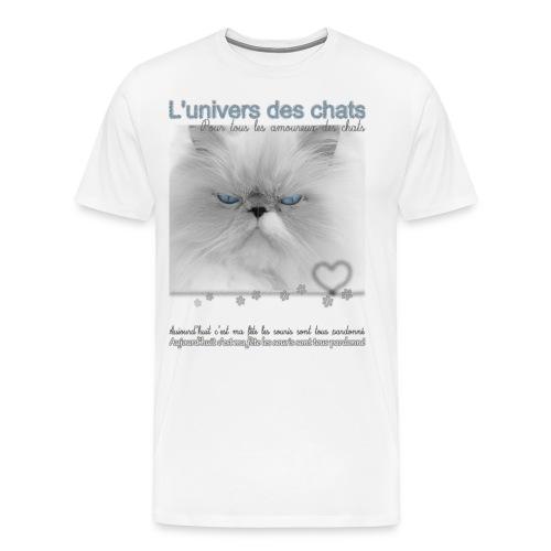 Le fête des chats - T-shirt Premium Homme
