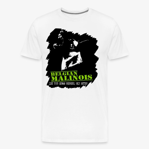 Malinois Schutzdienst - Männer Premium T-Shirt