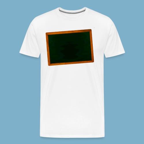 Schul Tafel - Männer Premium T-Shirt