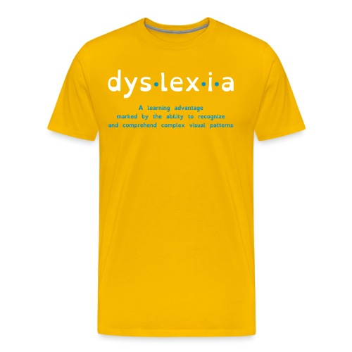 Dyslexia Advantage - Men's Premium T-Shirt