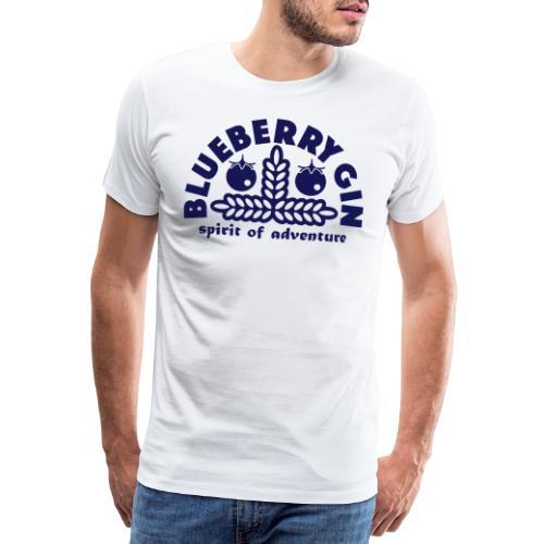 Blueberry Gin - Men's Premium T-Shirt