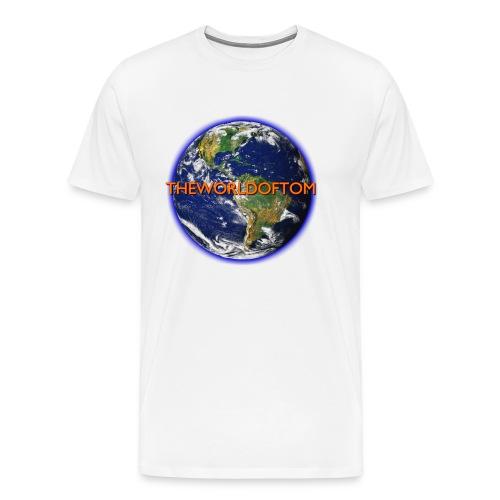 TheWorldOfTom Official T-Shirt - Men's Premium T-Shirt