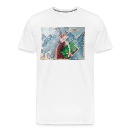 geit der wijsheid - Mannen Premium T-shirt