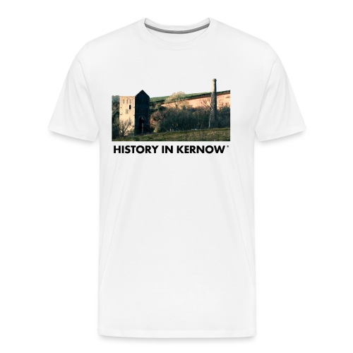 HISTORY IN KERNOW EAST WHEAL ROSE - Men's Premium T-Shirt