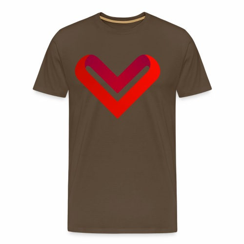 Coeur de V - T-shirt Premium Homme