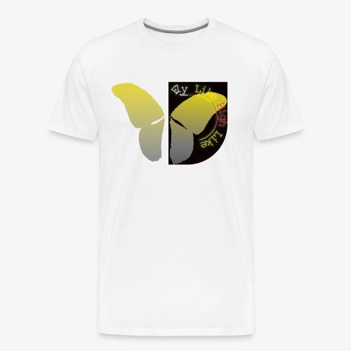 Butterfly high - Männer Premium T-Shirt