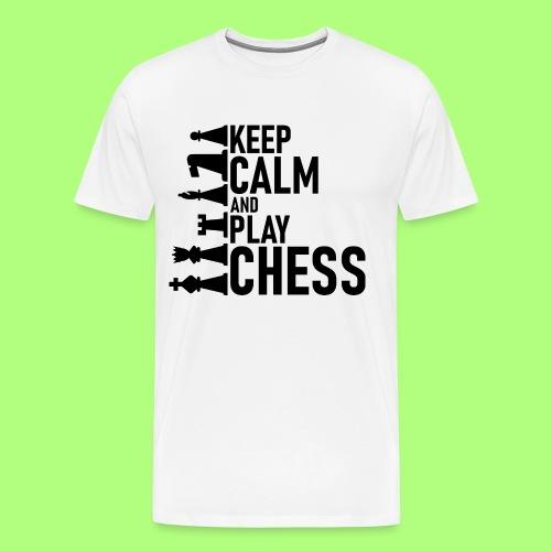 Schach - Männer Premium T-Shirt