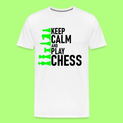 school chess shirt Spiel Schule - Männer Premium T-Shirt