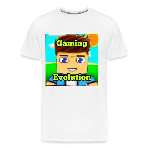 me while gaming - Men's Premium T-Shirt