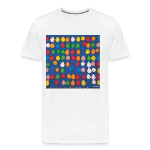 Luftballonwerfen auf dem Heinerfest Darmstadt - Männer Premium T-Shirt
