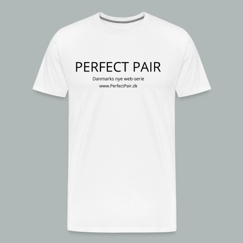 Perfect Pair - Herre premium T-shirt