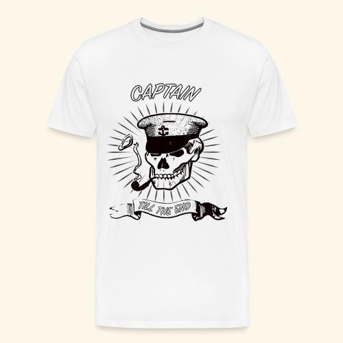 Kapitän bis zum ende - Männer Premium T-Shirt