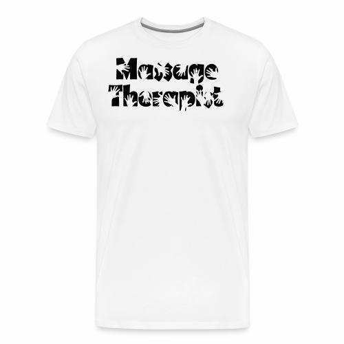 Massage Therapist - Männer Premium T-Shirt