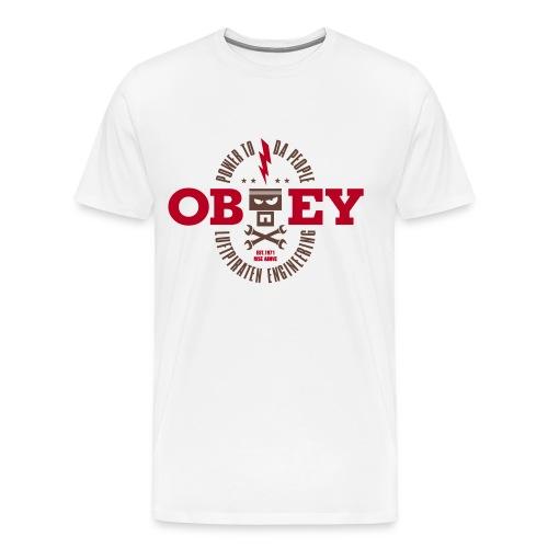 obeyluftpiraten - Männer Premium T-Shirt