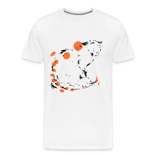 chat penseur - T-shirt Premium Homme