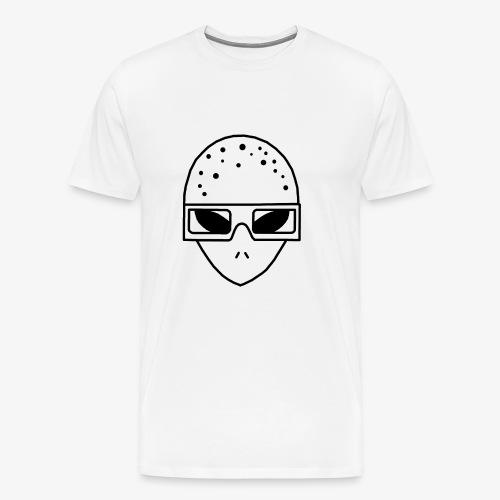 Mr3DAlien Logo Black - Männer Premium T-Shirt