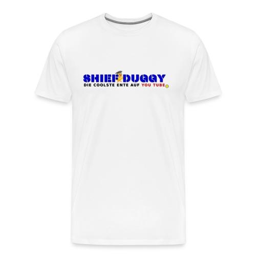 Shief Duggy Die Coolste Ente auf YouTube - Männer Premium T-Shirt