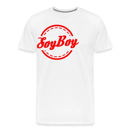 For Us Soy Boys Red - Men's Premium T-Shirt