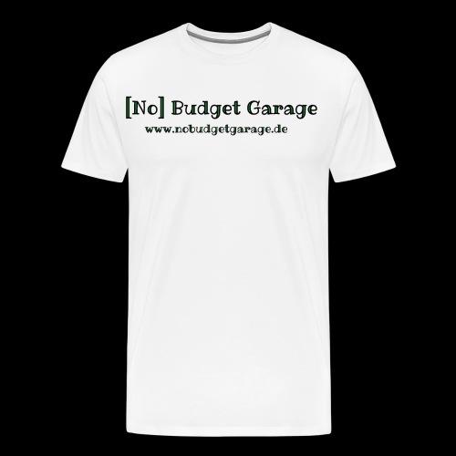 Classic Edition der No Budget Garage - Männer Premium T-Shirt