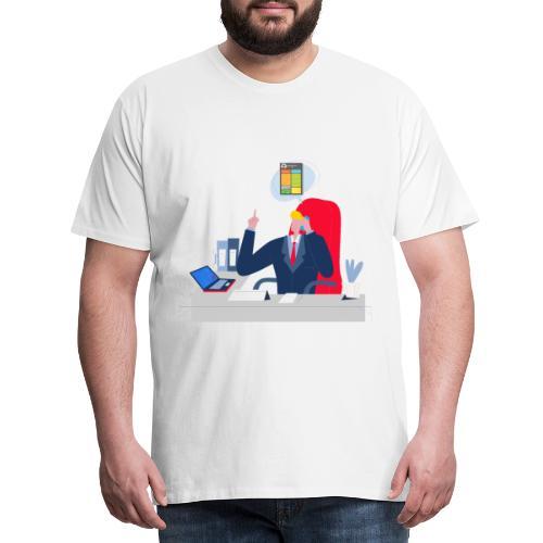 Jefe - Camiseta premium hombre