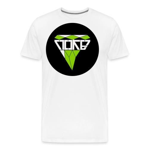 logo NOKEDIAMOND - Männer Premium T-Shirt