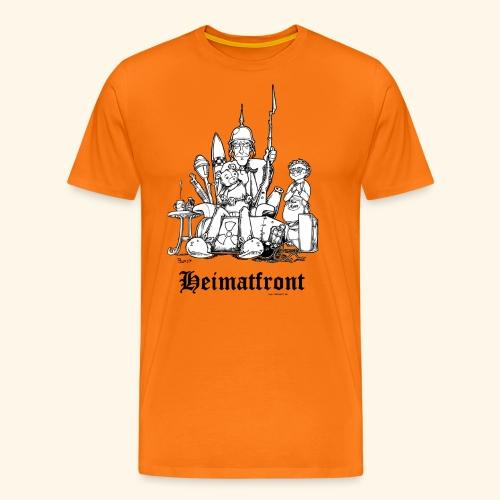 Heimatfront Mama Heimat Waffen Sohn Muttersöhnchen - Männer Premium T-Shirt