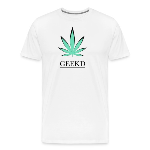 Geekd logo 1st week - Männer Premium T-Shirt