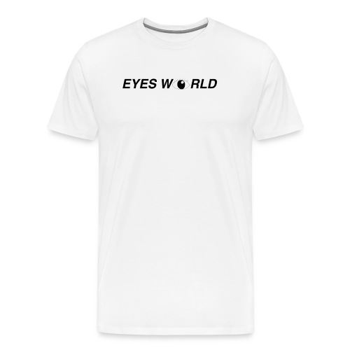Eyes world look - T-shirt Premium Homme