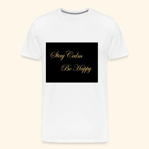 Be Happy - T-shirt Premium Homme
