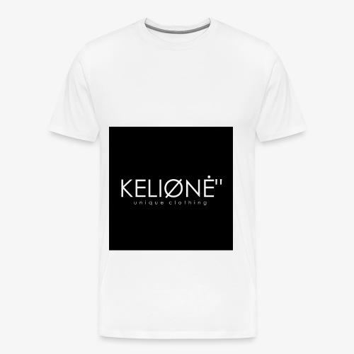 Black KELIØNĖ design - Men's Premium T-Shirt
