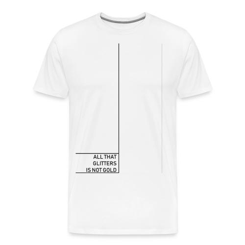 Minimal gold - Men's Premium T-Shirt