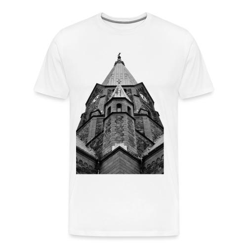 Kyrka - Premium-T-shirt herr