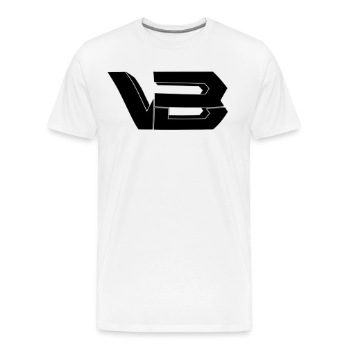 ViiBz Black Logo - Men's Premium T-Shirt